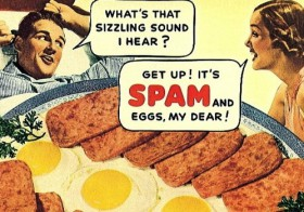 Spam, egg, Spam, Spam, bacon and Spam (og hvordan man importerer shape filer til PostgreSQL og får dem vist i QGIS)