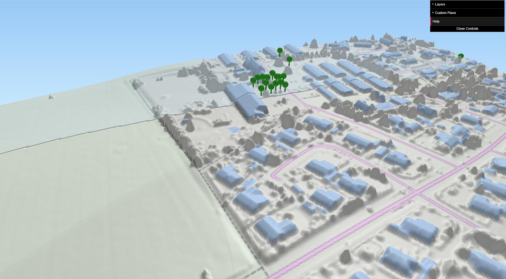 Højdemodel og dynamisk 3D-model til browser – et QGIS-plugin